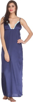 Clovia Women's Nighty(Blue) at flipkart
