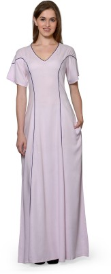 Patrorna Women's Nighty(Pink) at flipkart