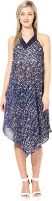 Athena Women's Night Gown(Dark Blue) at flipkart