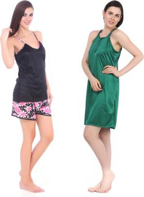 Fasense Women's(Pink, Black, Green) at flipkart