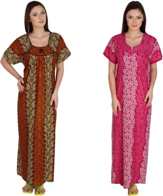 Guru Nanak Fashions Women's Nighty