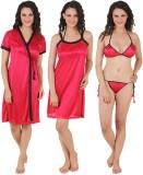 Fasense Women's Night Dress (Pink, Black...