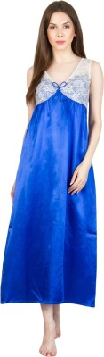 Patrorna Women's Nighty(Blue) at flipkart