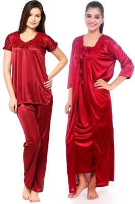 Red Apple Women's Nighty