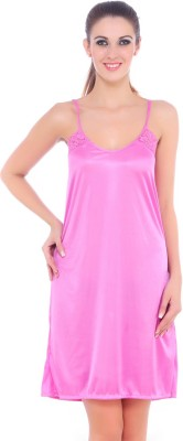 Fasense Women's Nighty(Pink) at flipkart