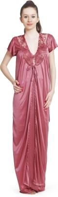Ellryza Women's Nighty with Robe