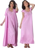 Belle Nuits Women's Nighty with Robe, To...