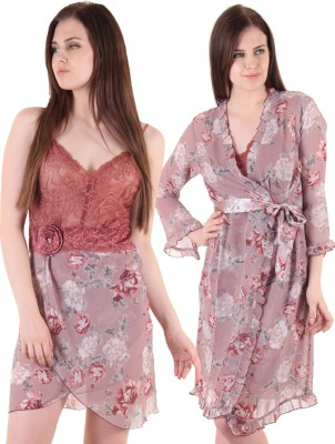 Private Lives Women's Nighty with Robe