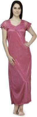 Oleva Women's Nighty(Pink) at flipkart