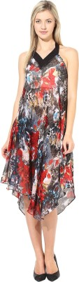 Athena Women's Night Gown(Multicolor) at flipkart
