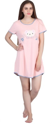 Cinderella Women's Nighty(Pink)