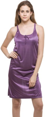 Allen Women's Nighty(Purple) at flipkart