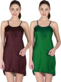 You Forever Women's Nighty (Green, Brown...