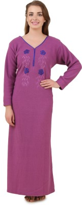 Masha Women's Nighty(Pink) at flipkart