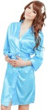 Everything Imported Women's Robe (Blue)