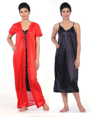 Fabme Women's Night dress