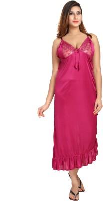 Fashigo Women's Nighty(Pink) at flipkart