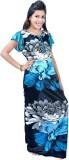Fashion Zilla Women's Nighty (Blue, Blac...