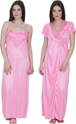 Secret Wish Women's Nighty with Robe