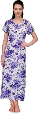 Go Glam Women,s Night Dress