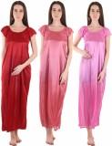Famaya Women's Nighty (Multicolor)