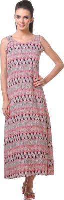 Tweens Women's Night Dress(White) at flipkart