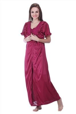 Skin Wrap Women's Nighty with Robe