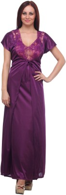 Pede Milan Women's Nighty(Purple) at flipkart