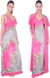 Fashion Zilla Women's Nighty with Robe (...