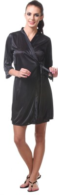 Affair Women's Night Dress(Black) at flipkart