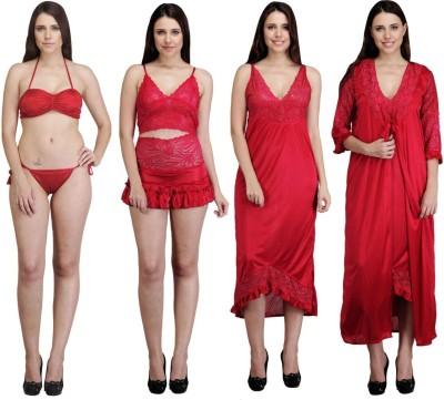 Rowena Women's Nighty with Robe