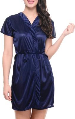 You Forever Women's Robe(Blue) at flipkart