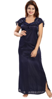 Rangmor Women's Nighty(Dark Blue) at flipkart