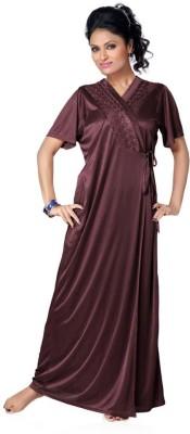 Sree Lakshmi's Women's Nighty with Robe, Top and Capri