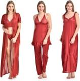 Fashion Zilla Women's Nighty with Robe, ...