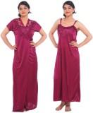Fasense Women's Nighty (Purple)