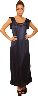 Clovia Women's Nighty(Dark Blue) at flipkart
