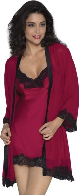 Amante Women's Nighty with Robe