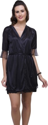 Hot N Sweet Women's Nighty with Robe