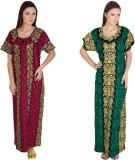 Guru Nanak Fashions Women's Nighty (Pink...