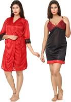 Fashigo Women's(Black, Red)