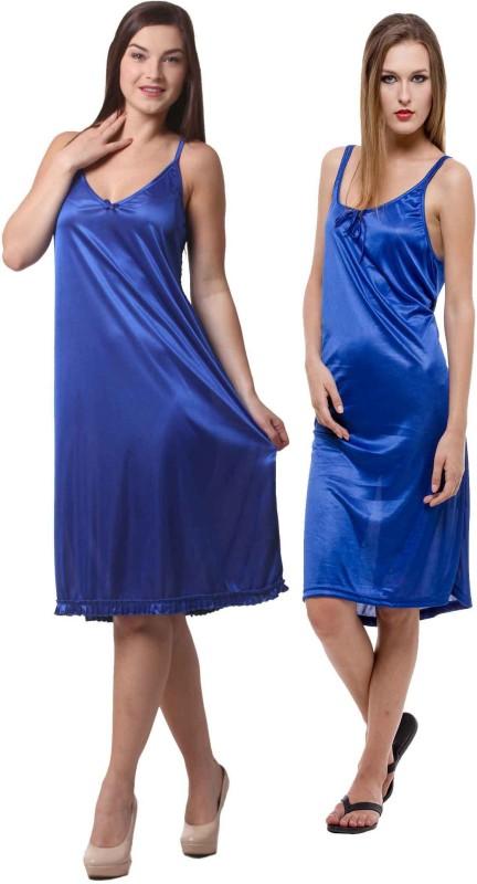 Being Fab Women's Nighty(Blue)