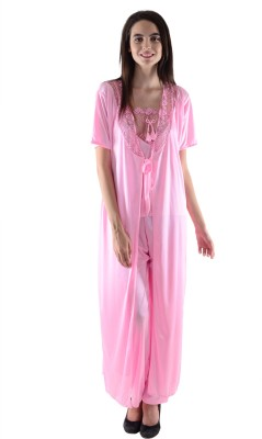 Dillidil Women's Nighty with Robe