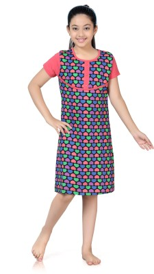 Kombee Girl's Night Dress
