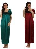 Miavii Women's Nighty (Multicolor)