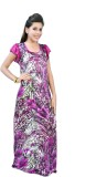 Fashion Zilla Women's Nighty (Pink)