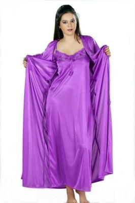DWM Women's Nighty with Robe