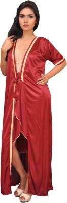 Melisa Women's Nighty with Robe
