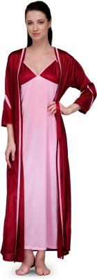 Go Glam Women's Night Dress