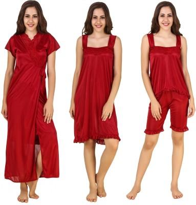CrazyLiner Women's Nighty with Robe